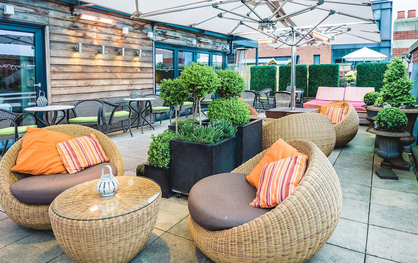 City Style and Living Magazine Winter 2018 Travel Hotels Manchester  Great John Street rooftop