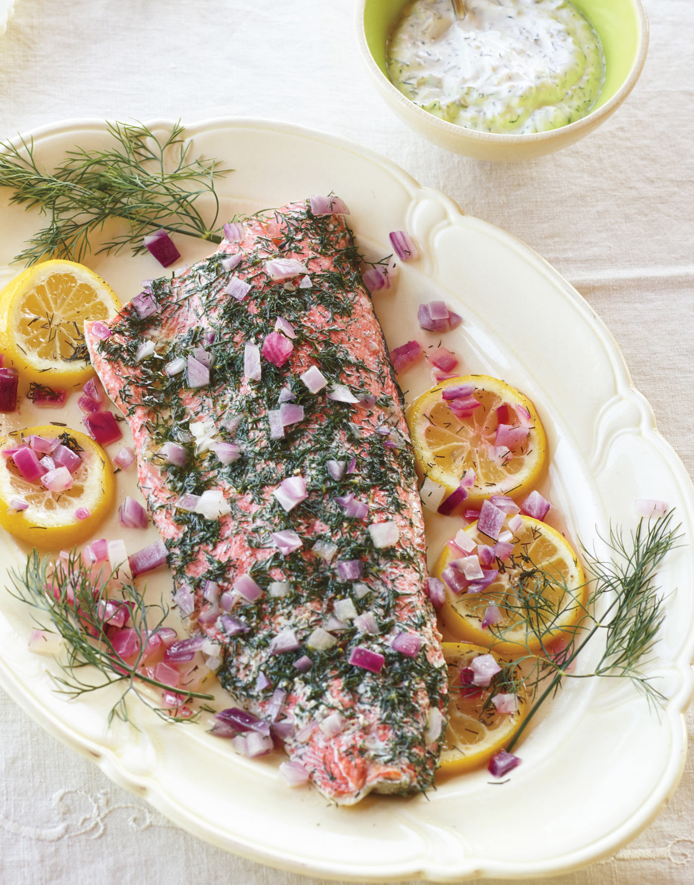City Style and Living Magazine Recipes HerbalistKitchen_PoachSalmon--(credit-Alexandra-Grablewski)