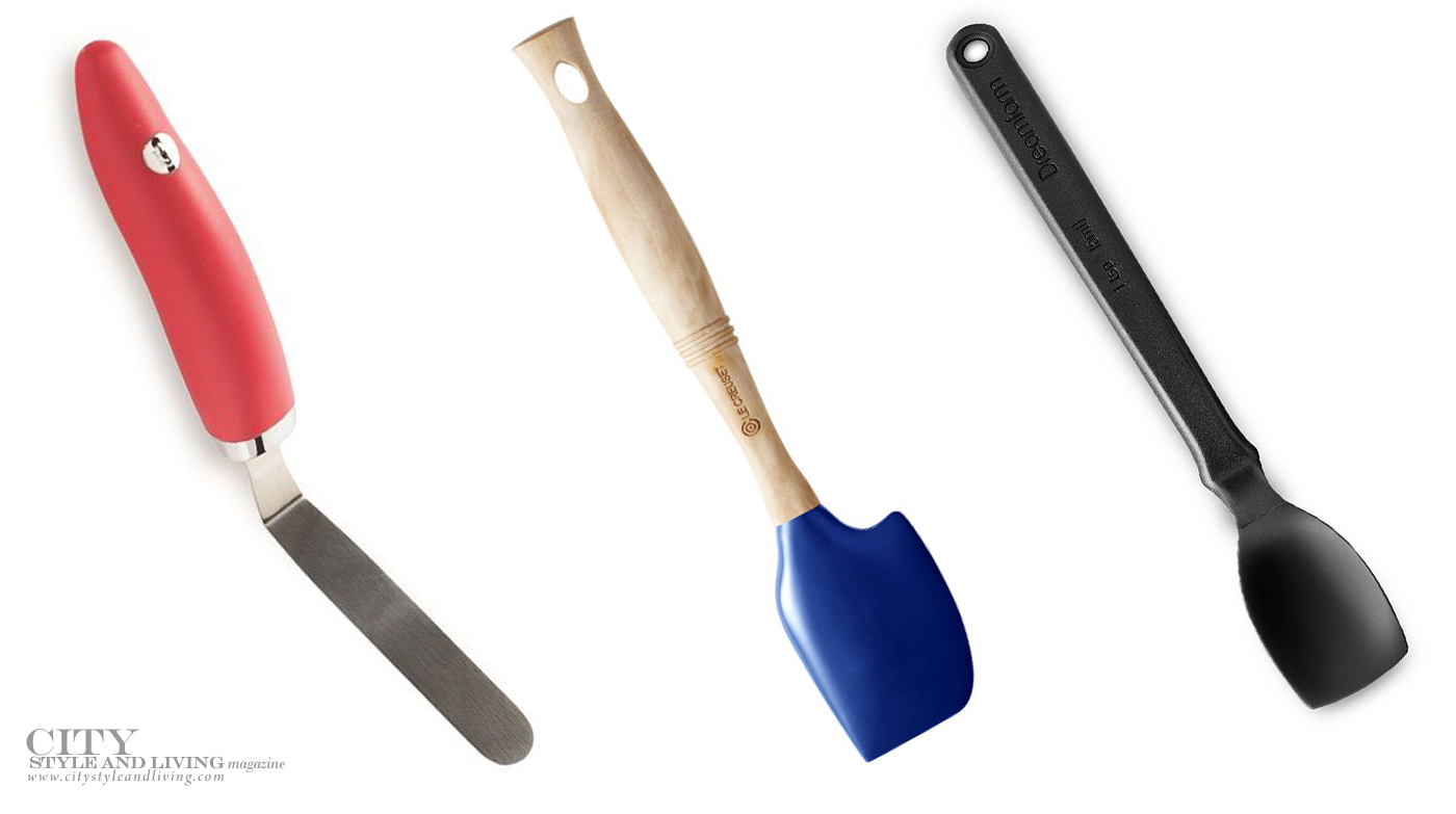 City Style and Living Magazine Spring 2019 Spring Baking Toolkit Spatulas