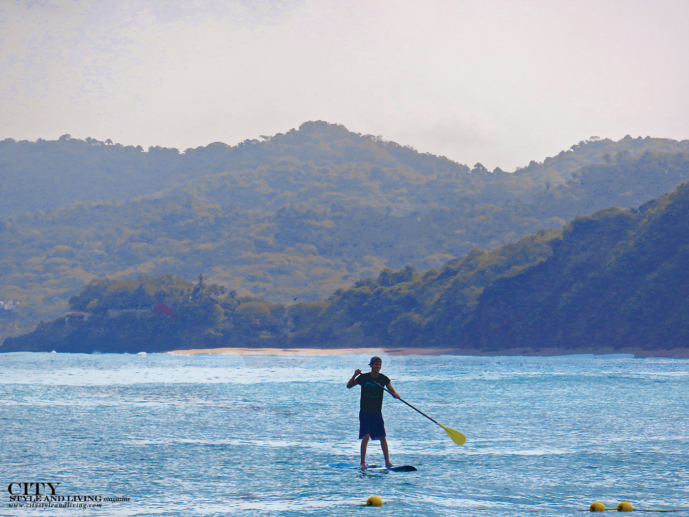 City Style and Living Magazine Travel Trips StandUpPaddleboarderMexico