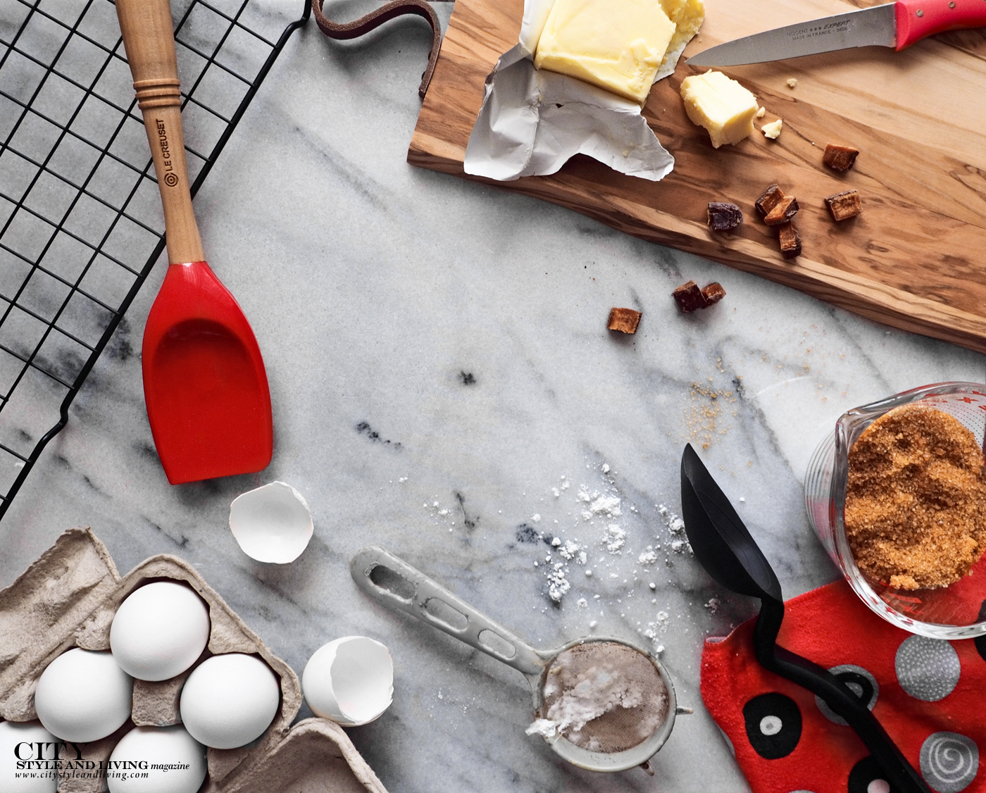 City Style and Living Magazine Spring 2019 Spring Baking Toolkit