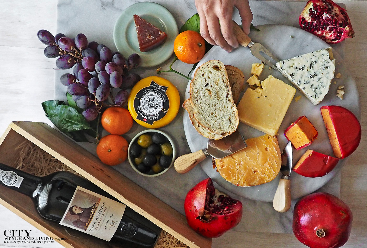 City Style and Living Magazine Spring 2019 Products, Techniques and Ingredients We Love Finica Cheese Board