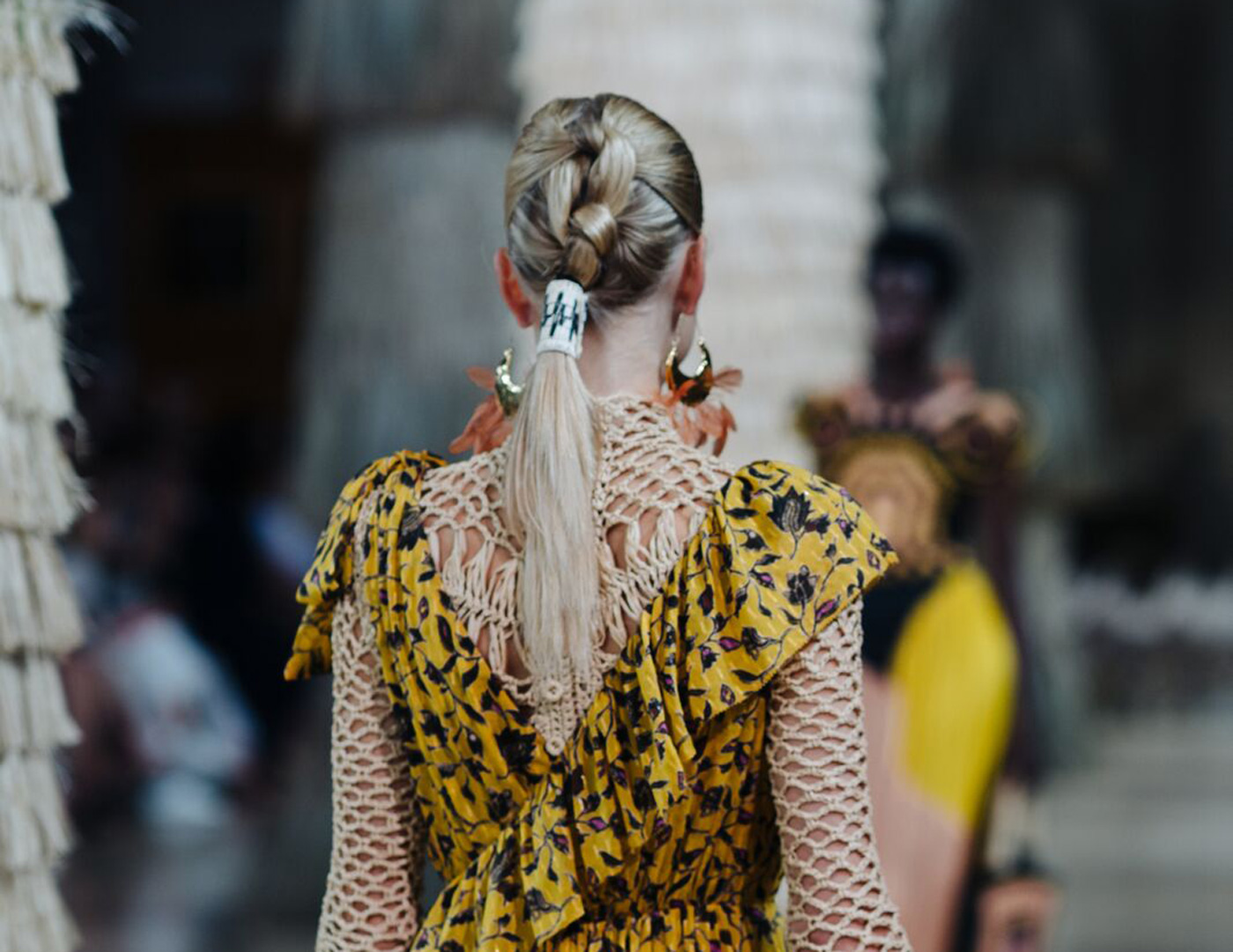City Style and Living Magazine Spring 2019 Beauty Lessons from the runway ponytail Ulla Johnson