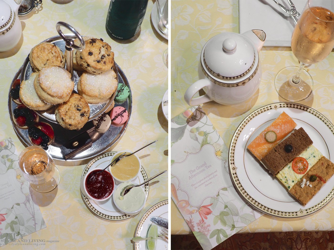 City Style and Living Magazine Summer 2019 Fairmont grand del mar san diego afternoon tea