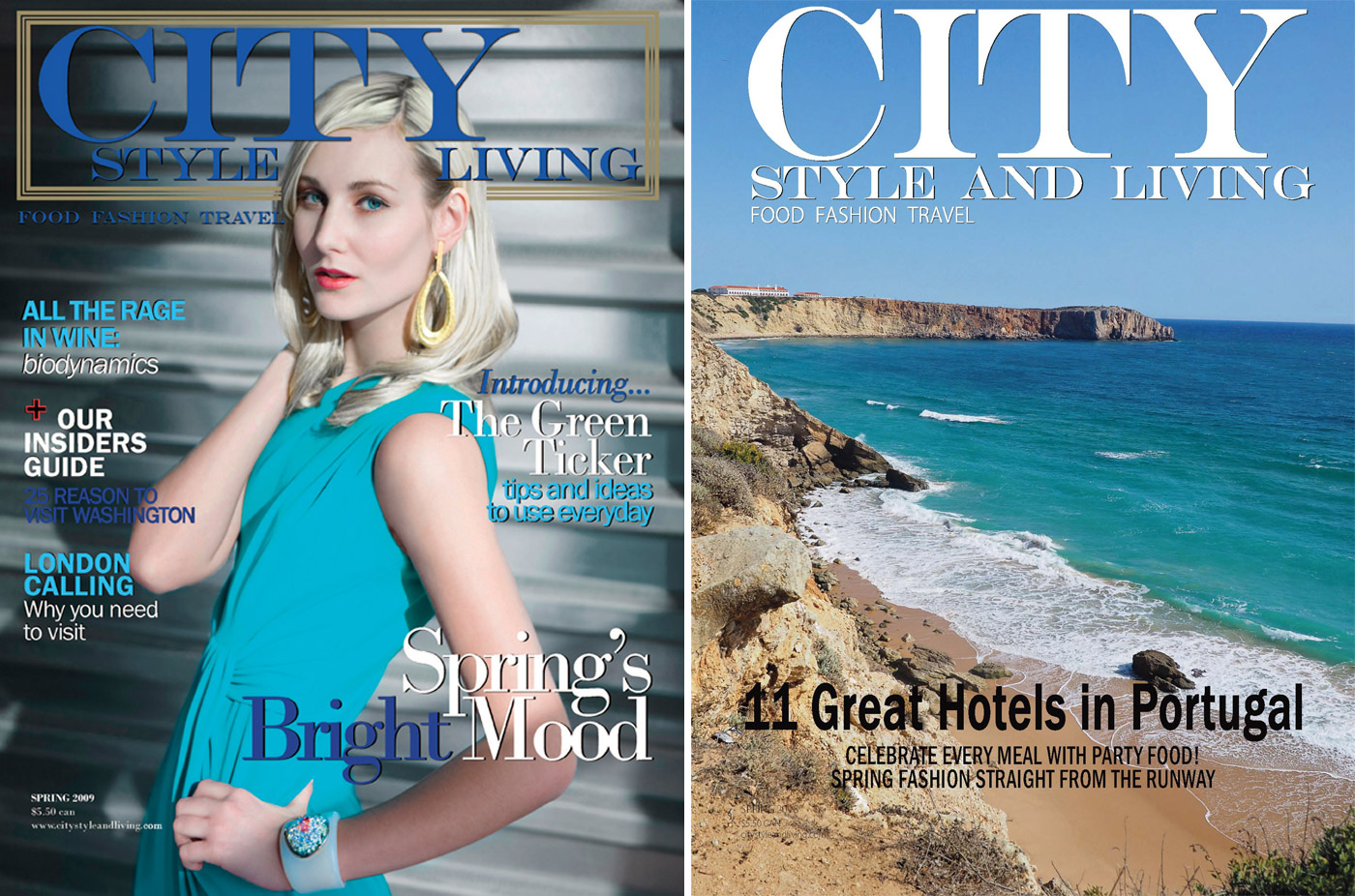 City Style and Living Magazine spring 2019 Editors Letter