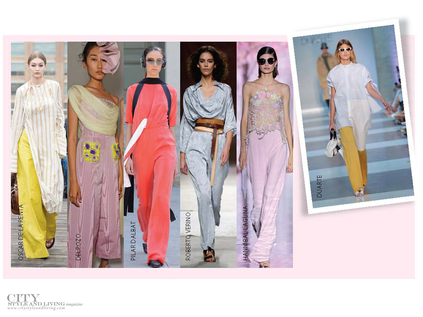 City Style and Living Magazine Summer 2019 Fashion Trends wide leg pants