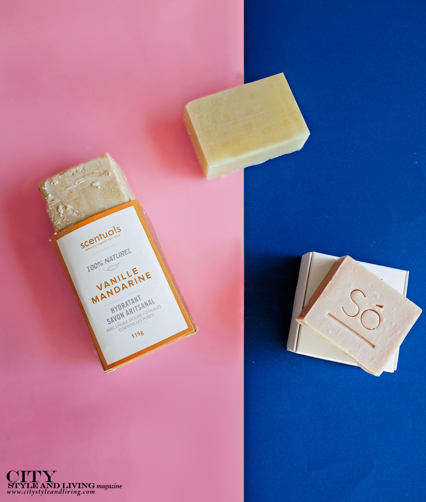 City Style and Living Magazine Summer 2019 Beauty Products Soap Bars