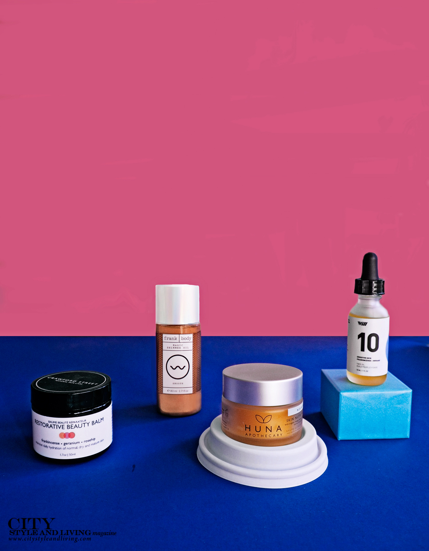 City Style and Living Magazine Summer 2019 Beauty Products balms and oils