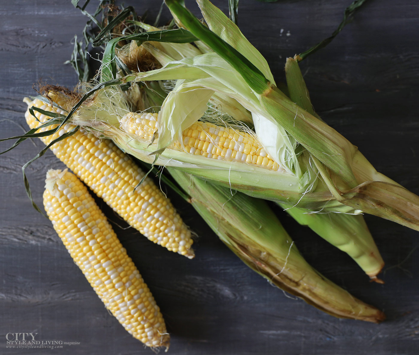 City Style and Living Magazine Fall 2019 Food Gourmet finds Corn Market