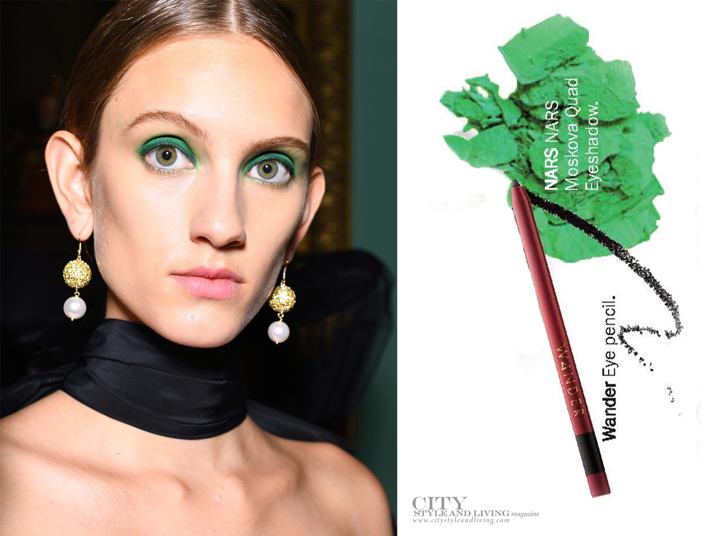 City Style and Living Magazine Summer 2019 Beauty Trends Erdem Makeup
