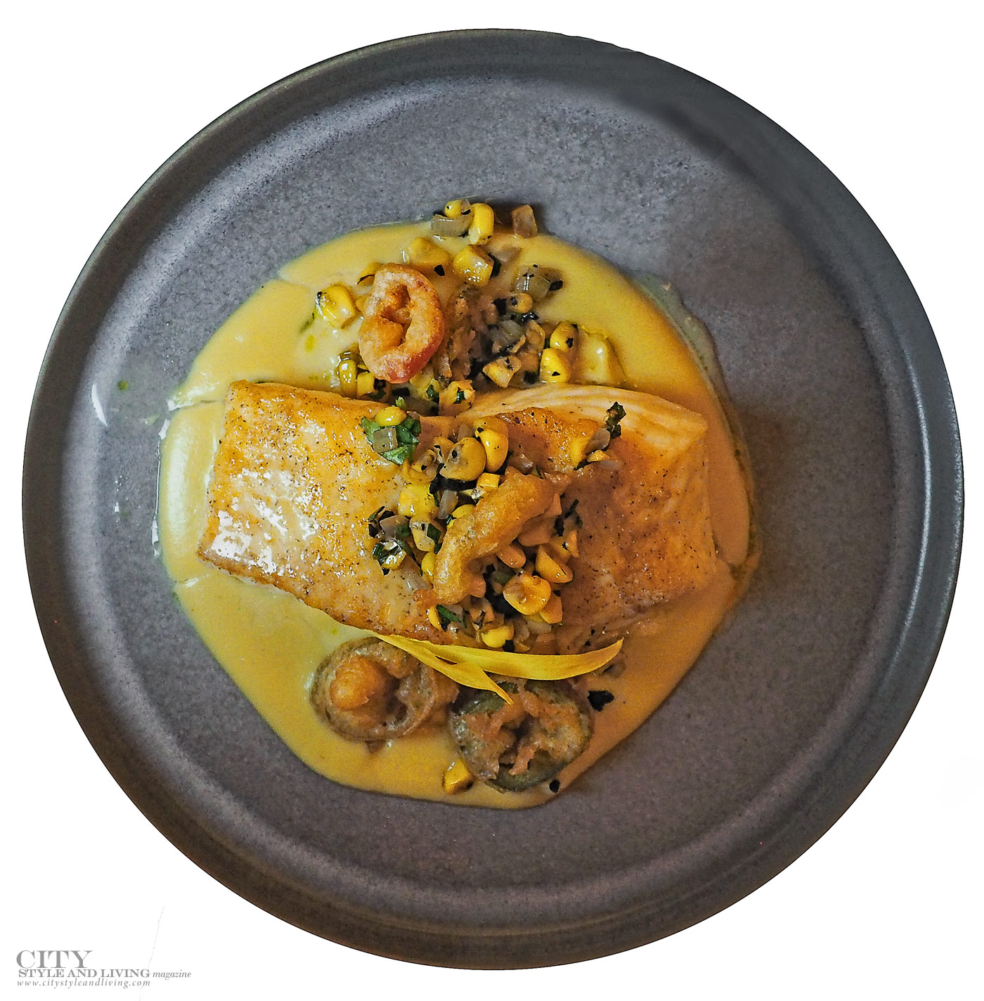 City Style and Living Magazine Fall 2019 Food Gourmet finds Corn Fish