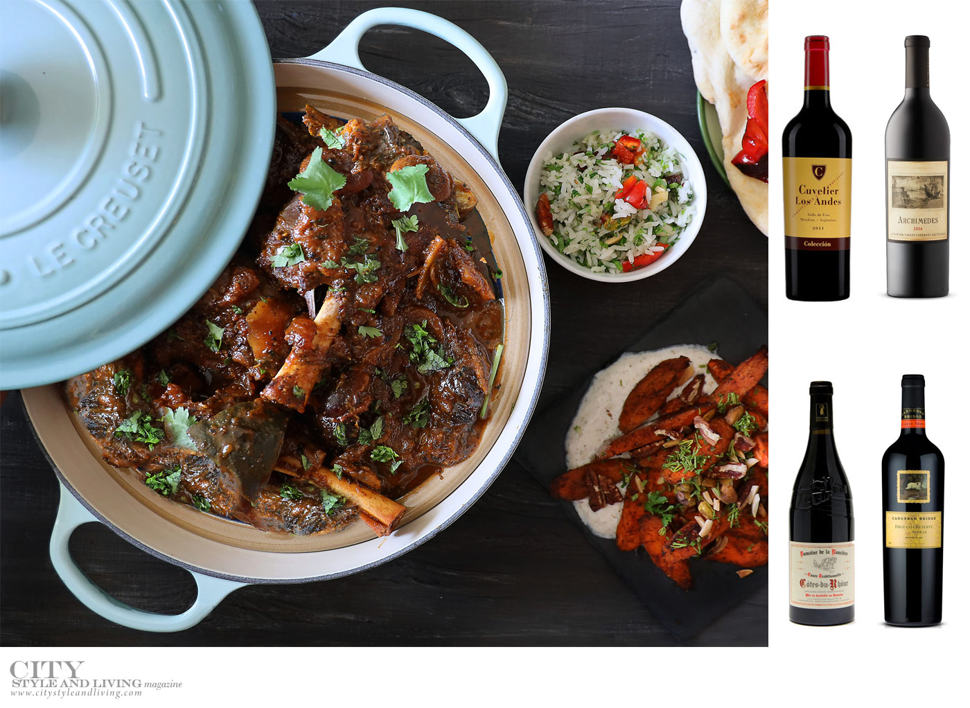 City Style and Living Magazine Fall 2019 Wines and spirits what to pair with lamb stew