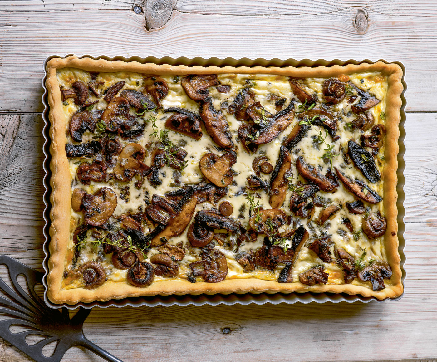 City Style and Living Magazine Fall 2019 Food Mushroom tart recipe
