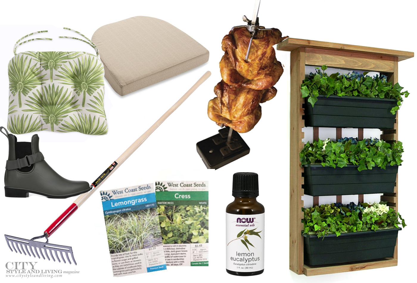 City Style and Living Magazine Summer 2019 create the perfect outdoor space tools