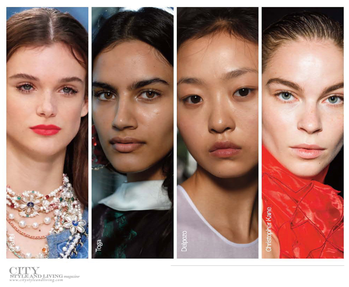City Style and Living Magazine Summer 2019 Beauty Trends fresh face