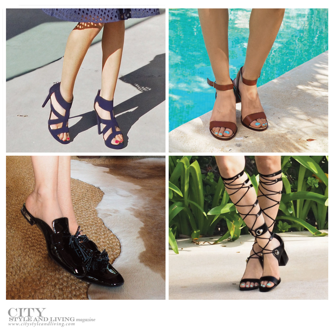 City Style and Living Magazine Summer 2019 Fashion Trends Shoes