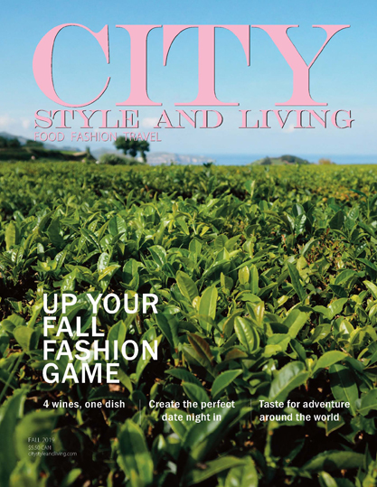 City Style and Living Magazine Fall 2019 Cover