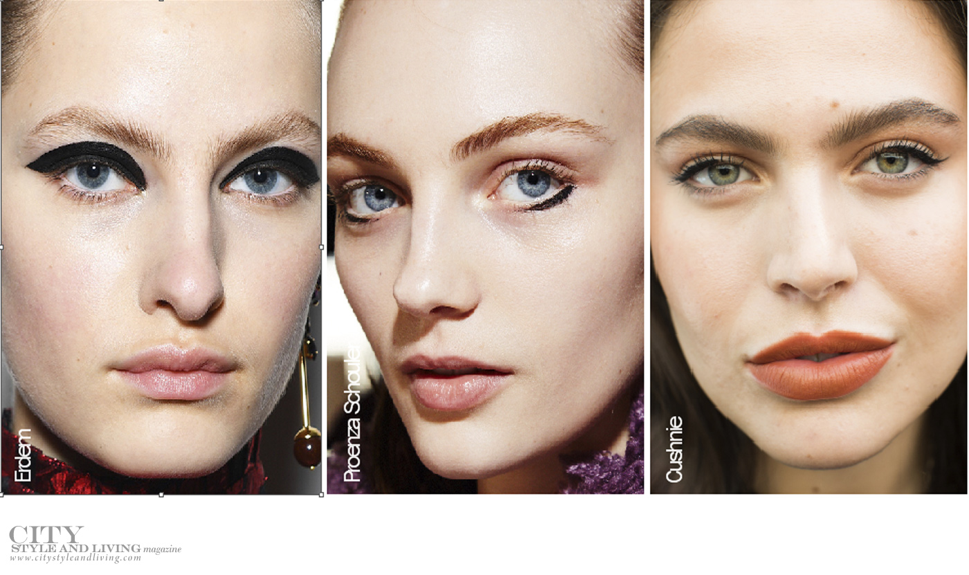 City Style and Living Magazine Beauty Runway Fall 2019 face