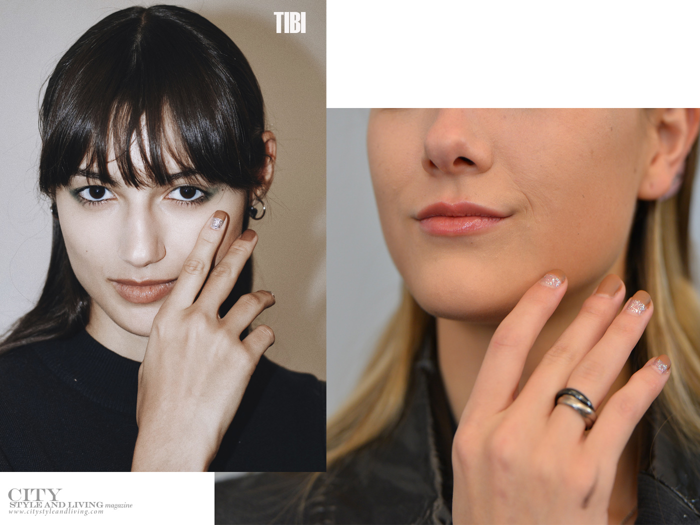 City Style and Living Magazine Beauty Runway Fall 2019 Tibi nails