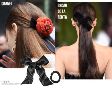City Style and Living Magazine Beauty Fall 2019 The new hair ribbon