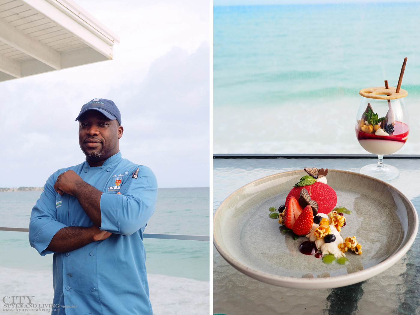 City Style and Living Magazine Winter 2019 Barbados Kailash Maharaj sea breeze chef ron maynard
