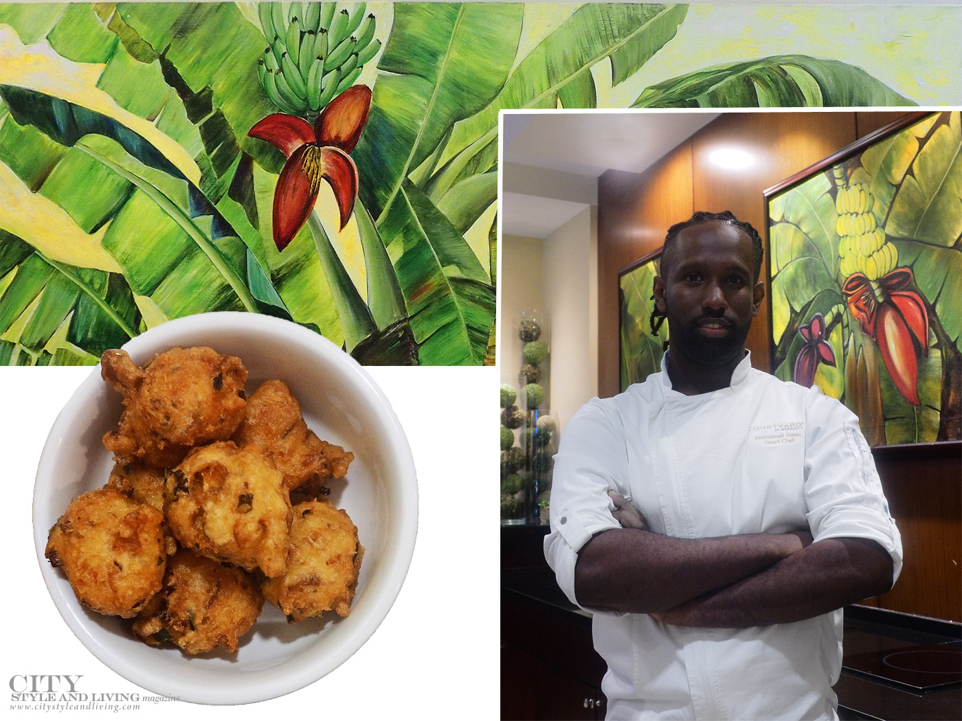 City Style and Living Magazine Winter 2019 Courtyard By Marriott Port Of Spain Trinidad and Tobago chef and local cuisine