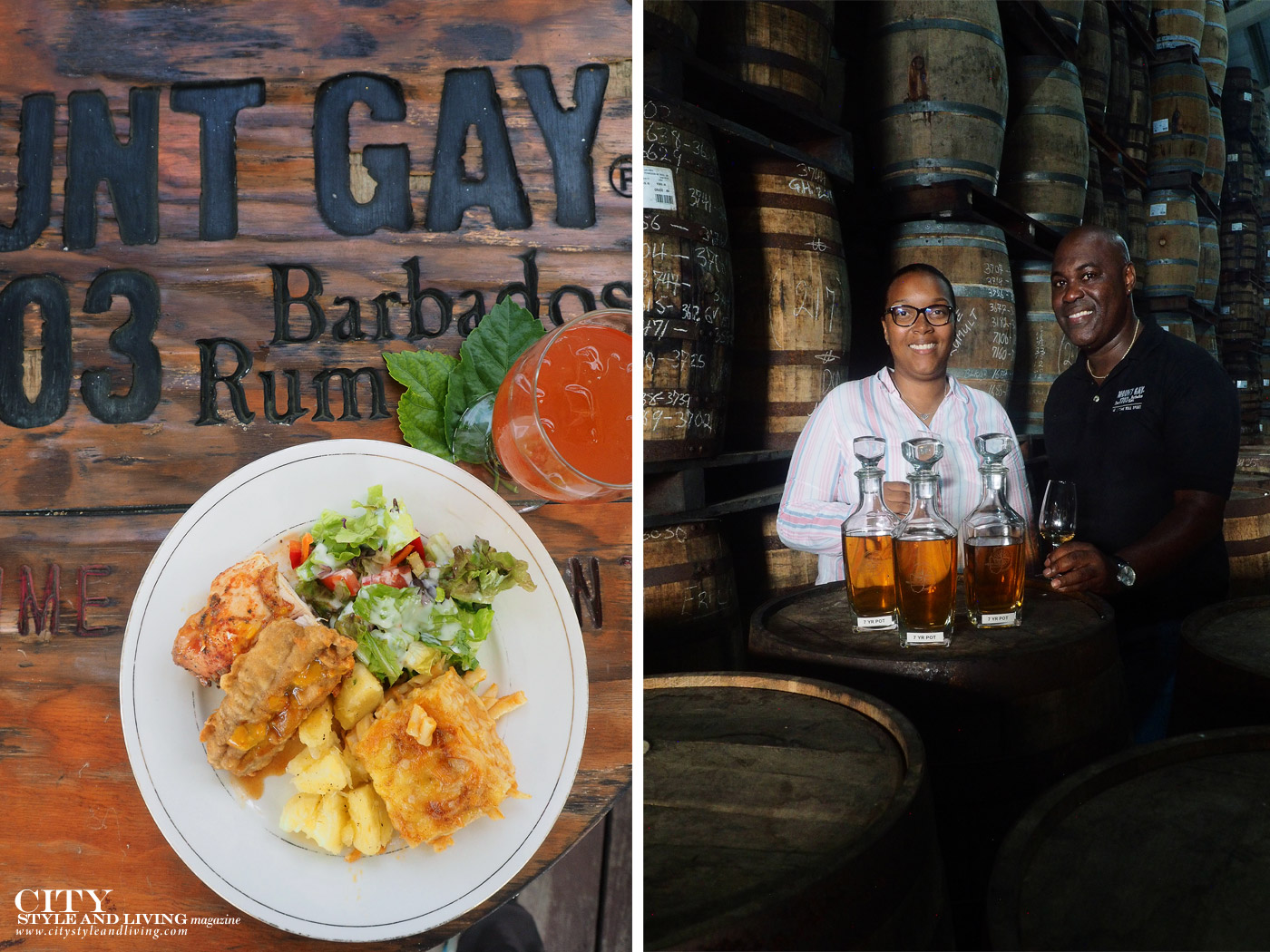 City Style and Living Magazine Winter 2019 Barbados Kailash Maharaj Mount Gay Rum