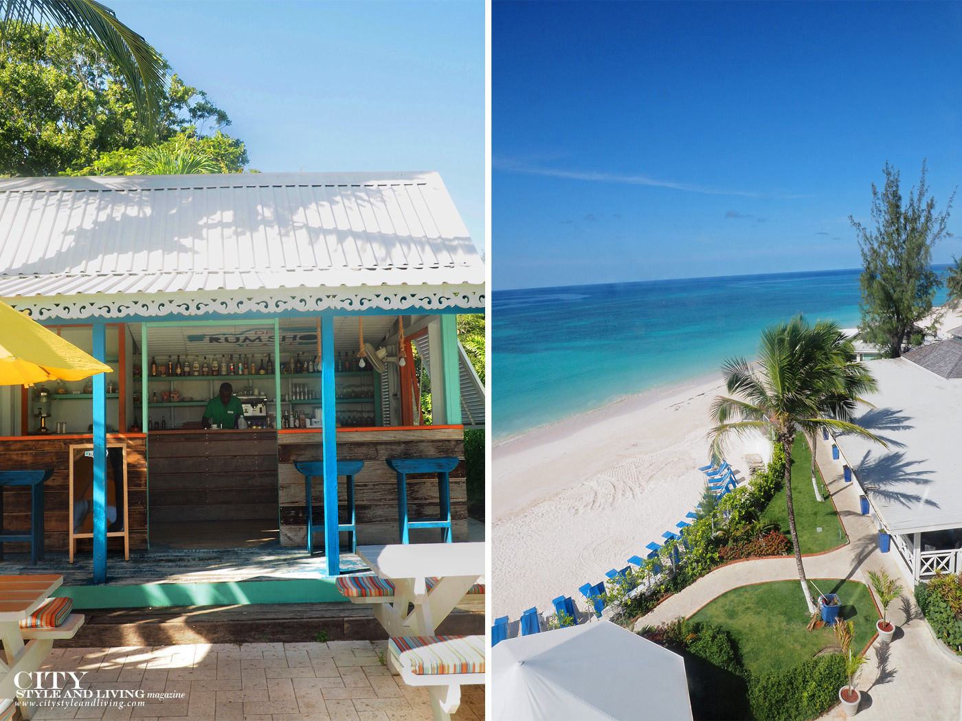 City Style and Living Magazine Winter 2019 Barbados Sea Breeze hotel Kailash Maharaj rum shop and beach