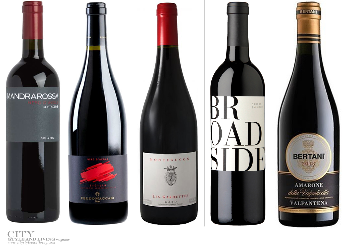 City Style and Living Magazine Winter wines and spirits best wine for holidays 5 wines