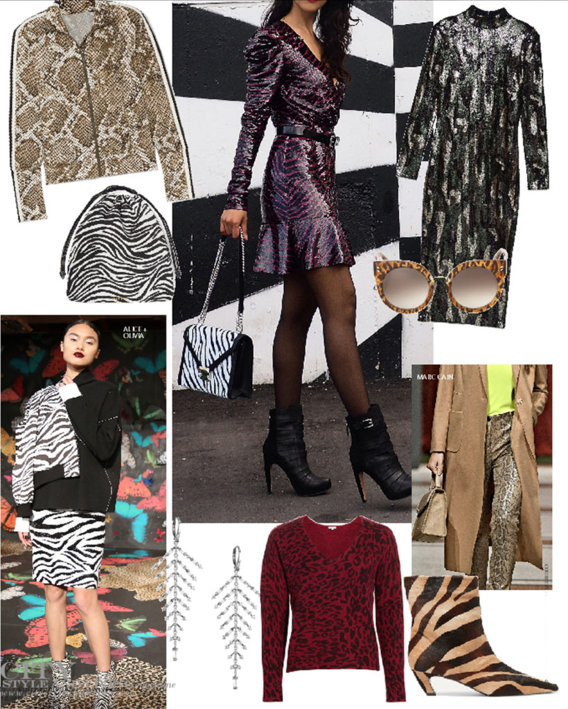 City Style and Living Magazine Winter Holiday style animal print