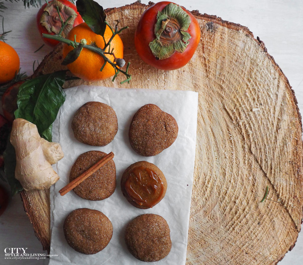 City Style and Living Magazine Winter Holiday baking shortcuts Holiday Ginger snap Cookies