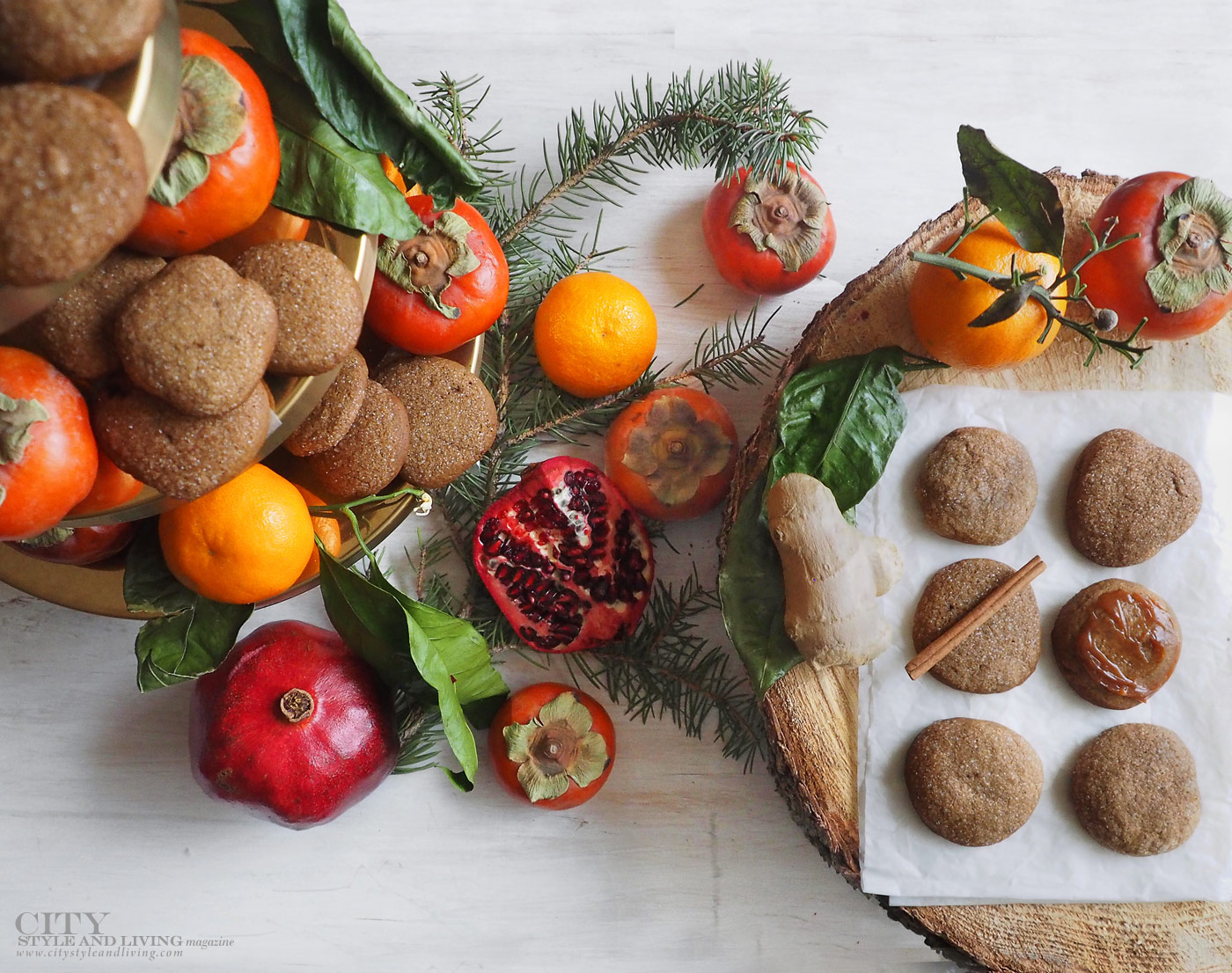 City Style and Living Magazine Winter Holiday baking shortcuts Holiday Ginger Cookies