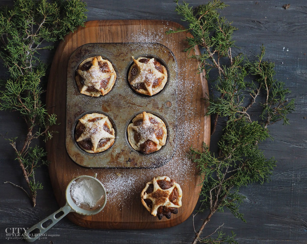 City Style and Living Magazine Winter Holiday baking shortcuts Mincemeat Tarts