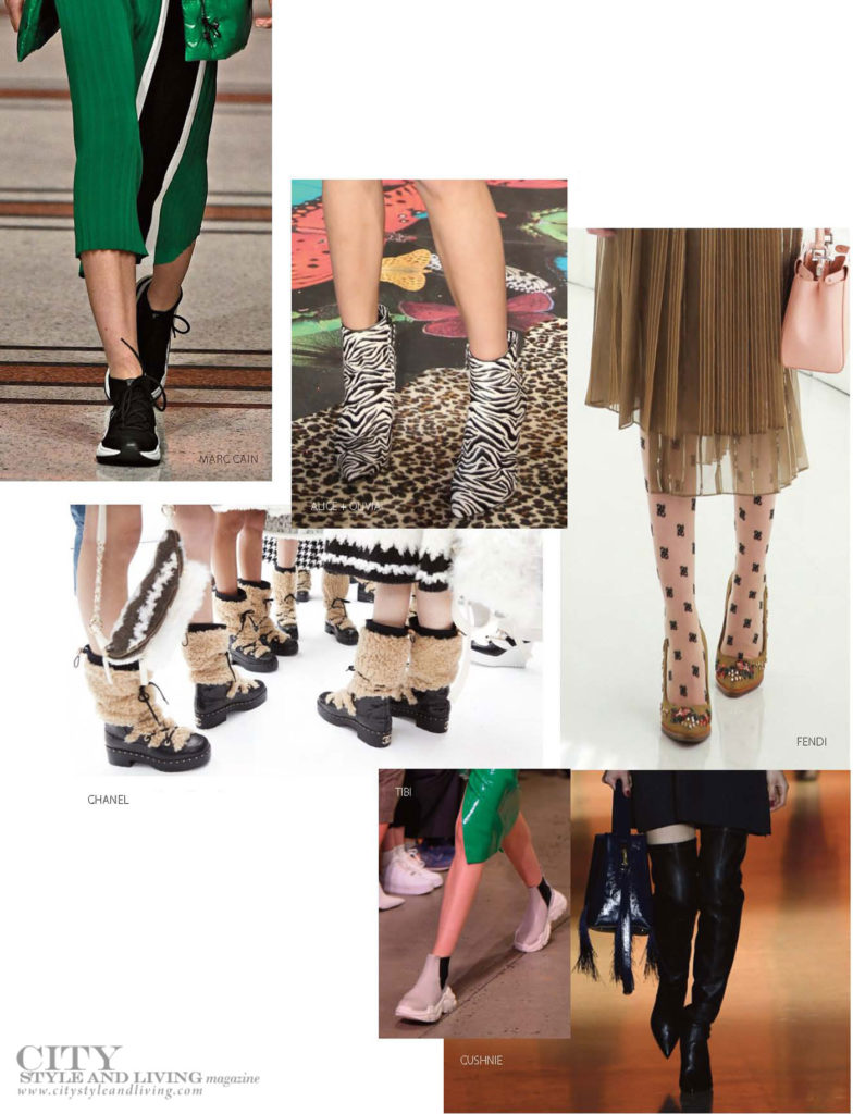 City Style and Living Magazine Winter Holiday style shoes