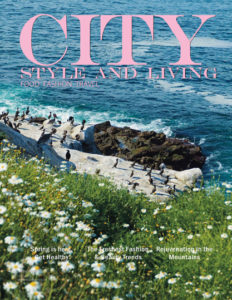 City Style and Living MAgazine Cover Spring 2020