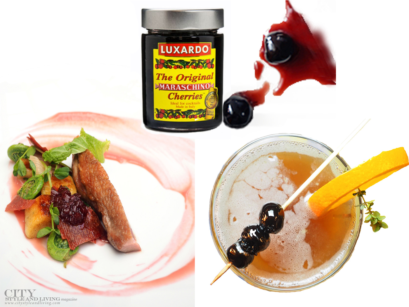City Style and Living Magazine Food spring favourite gourmet products Luxardo Cherries