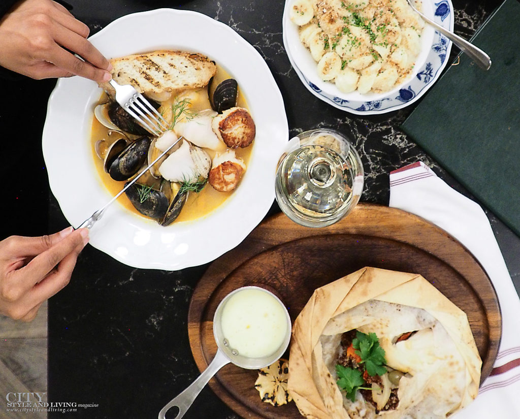 City Style and Living Magazine spring 2020 Eat More fish Scallops and Papilotte