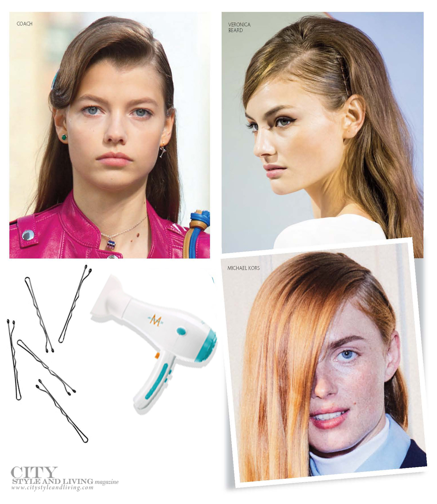 City Style and Living Magazine spring 2020 Beauty The New Side-Part
