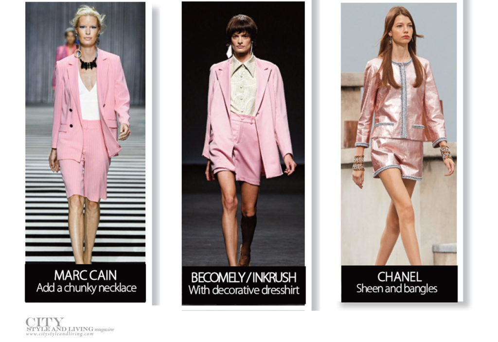 City Style and Living Magazine spring 2020 Fashion Here Are the Trends that are Everything For Spring 2020 Pink short suit