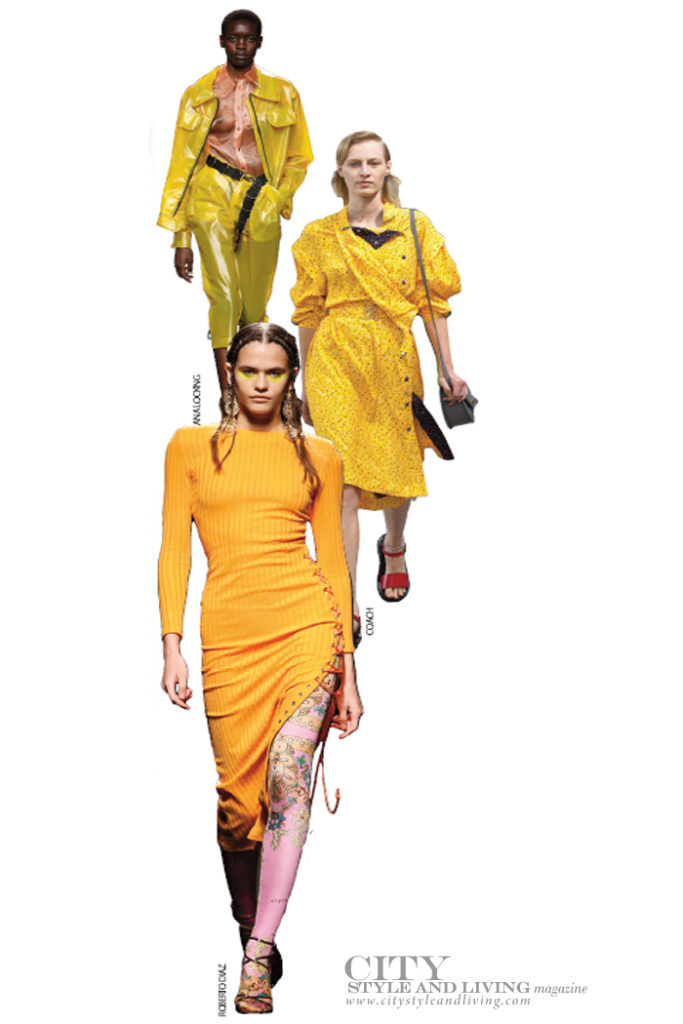 City Style and Living Magazine spring 2020 Fashion Here Are the Trends that are Everything For Spring 2020 saffron
