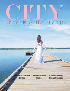 City Style and Living Magazine Cover Summer 2020