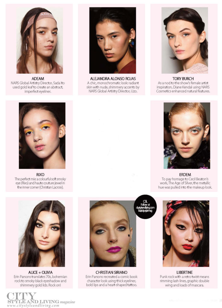 City Style and Living Magazine Fall 2020 9 Easy At Home Beauty Looks