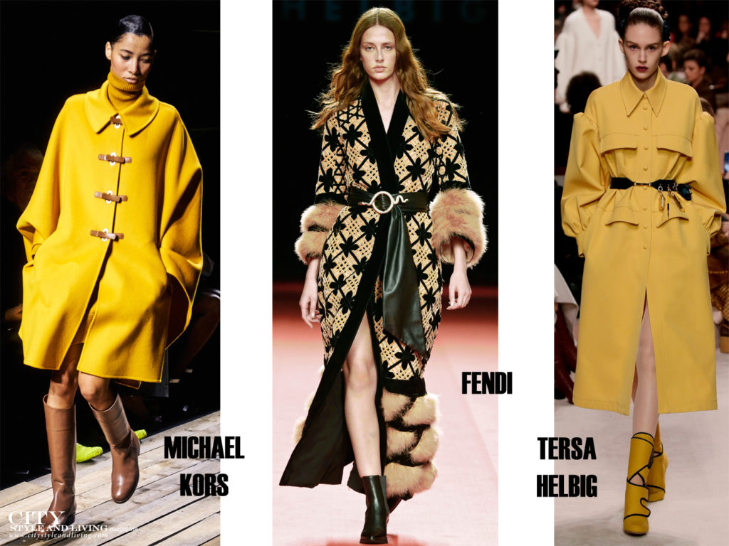 City Style and Living Magazine Fall 2020 The Most Inspiring Trends of Fall 2020 yellow