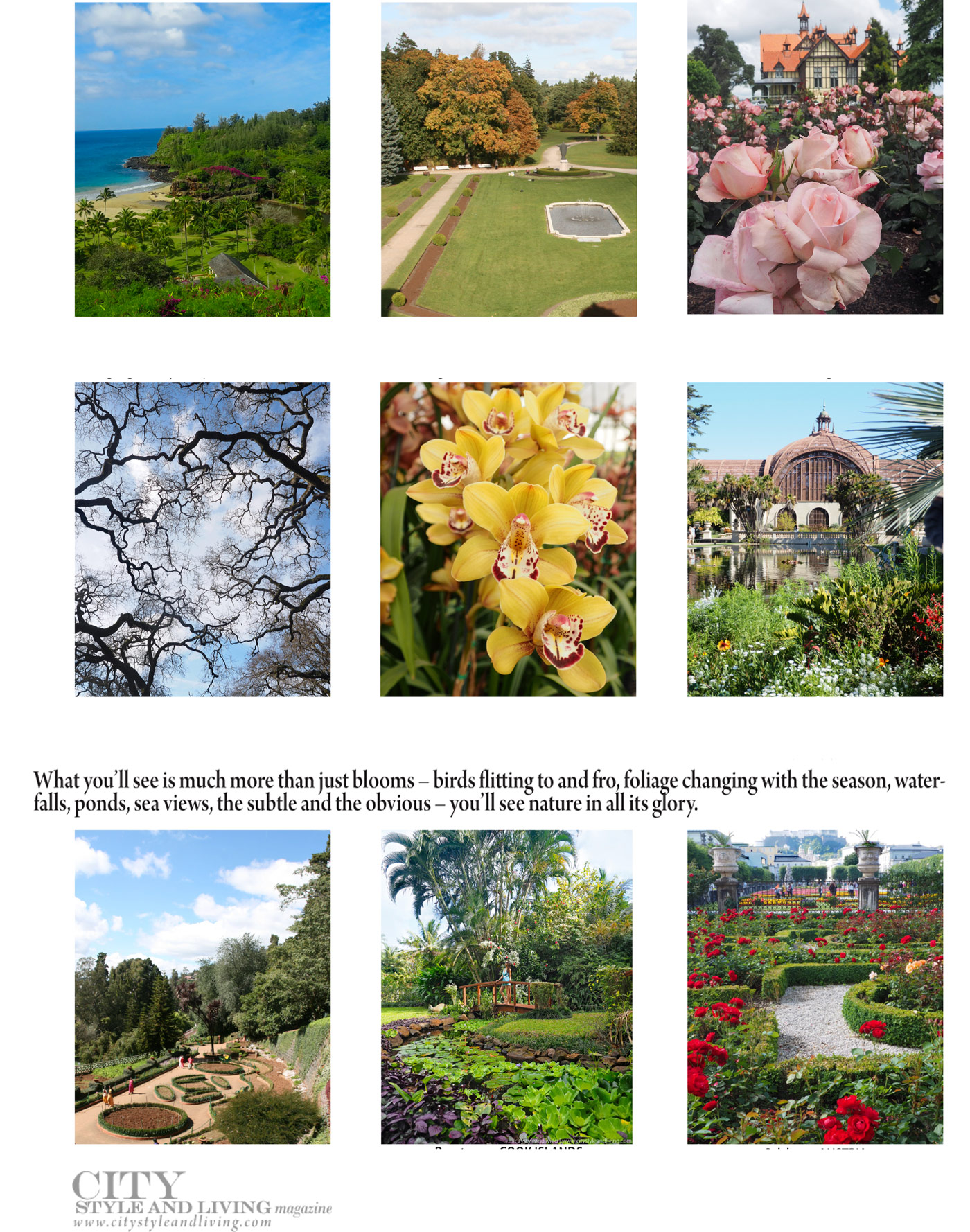 City Style and Living Spring 2021 Global Gardens: A Tour Around Some of the Prettiest Spots in the World