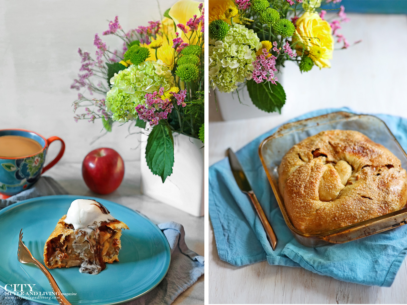City Style and Living Magazine Winter 2020 Apple Strudel and Whisky Ice Cream