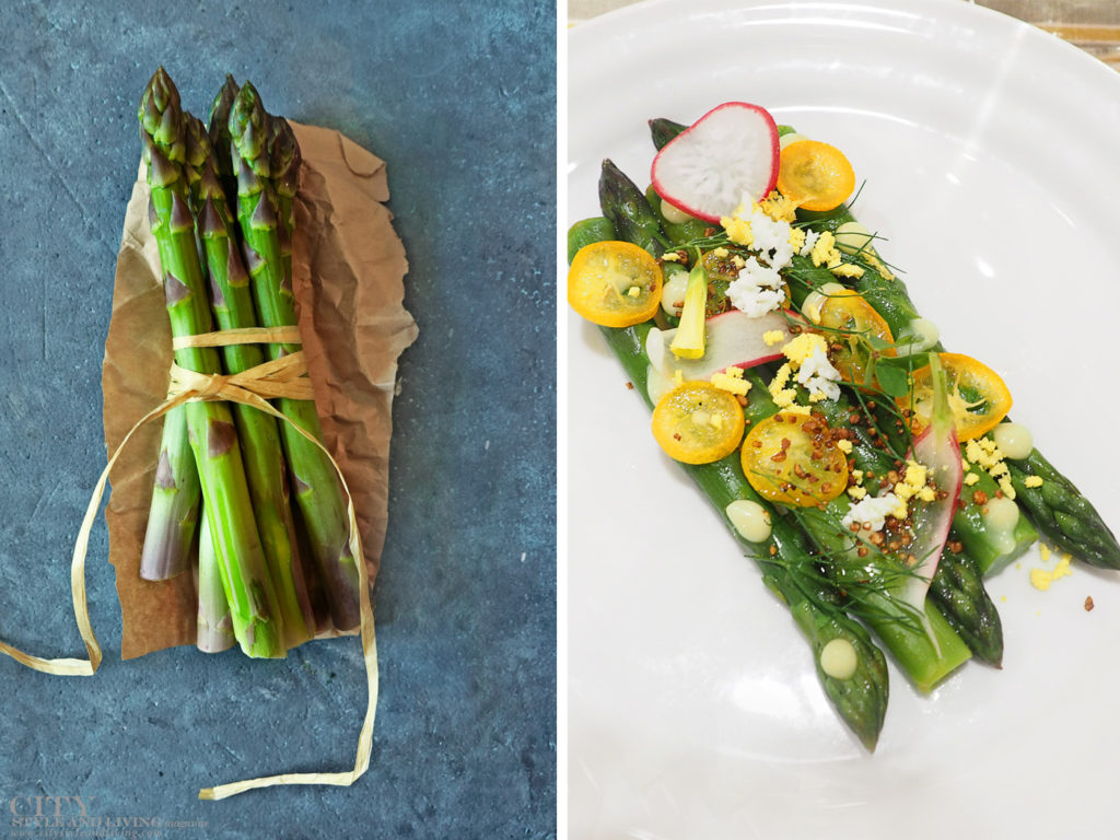 City Style and Living Spring 2021 Quick Asparagus Salad