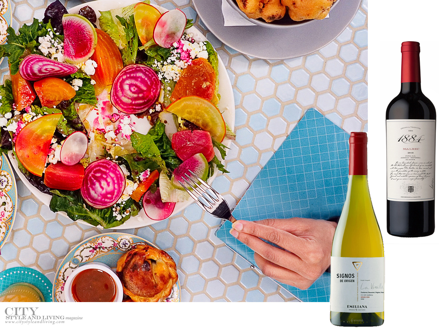 City Style and Living Summer 2021 CSL's Top Picnic Time Drinks Everyone Will Love Beet Salad and Wine